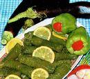 Zeytinyağlı biber dolmasi