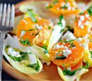 Endive, Orange and Hazelnut Salad