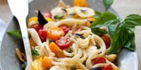 Martha Stewart's Pasta with Marinated Tomatoes
