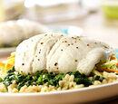 Lemon Rice-stuffed Sole