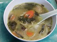Rice Stew With Daikon (daikon Zosui)