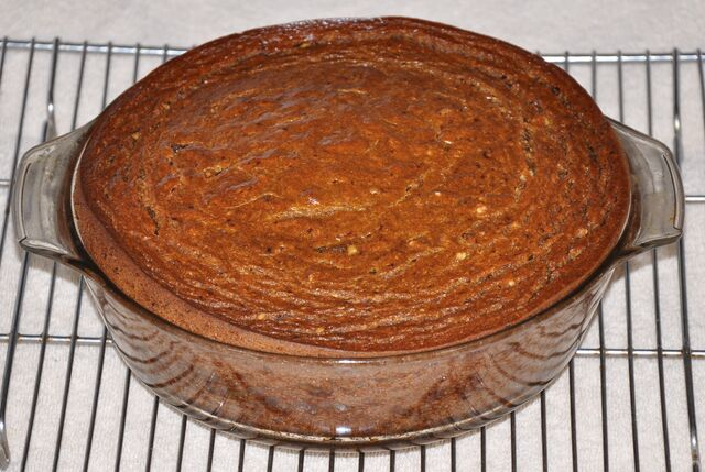 File:Persimmon Pudding Fresh Out Of The Oven Before Shrinking 5.jpg