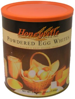 Powdered egg white