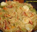 Spicy Prawn Jambalaya