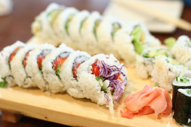 File:Vegetarian sushi.jpg