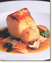 Chilean Sea Bass in Shiso Broth