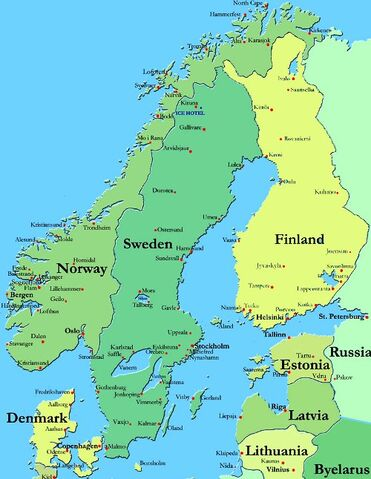 File:Map of Scandinavia.jpg