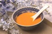 Red Pepper curry coconut soup