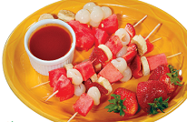 Fruitskewers