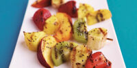 Grilled Strawberry Kiwi Kabobs
