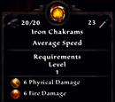 Iron Chakrams