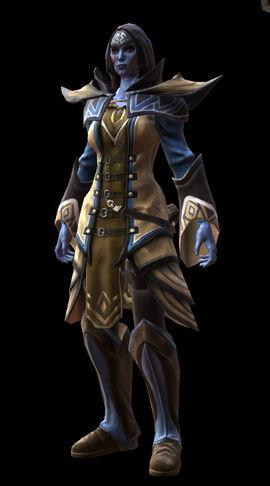 Reckoning arcanist's armor set