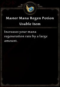 Mastermanaregenpotion