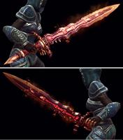 Flameblade Model