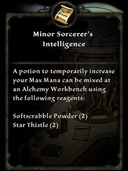 MinorSorcerersIntelligence