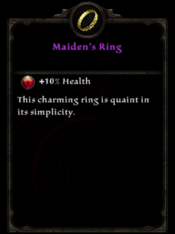 Maidens ring