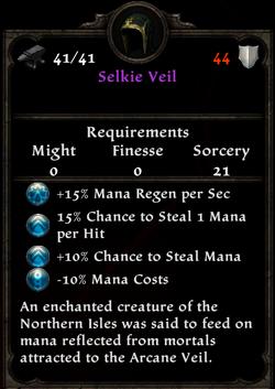 Selkie Veil Inventory