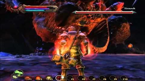 Kingdoms Of Amalur Tirnoch boss fight