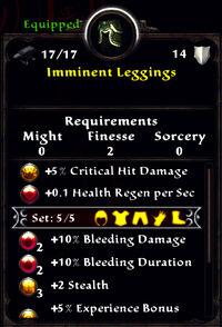 Imminent leggings