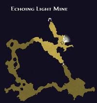 Echoing light mine map