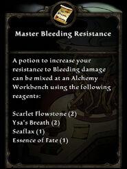 MasterBleedingResistance