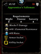 Apprentice Talisman