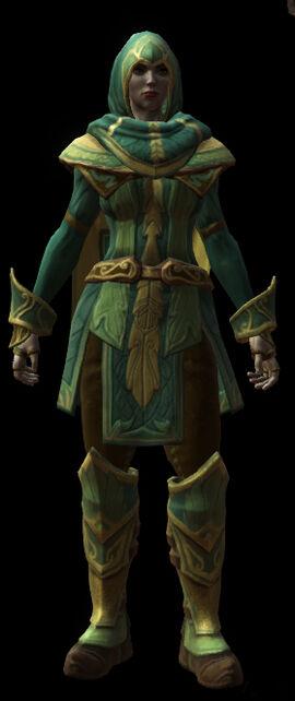 House of ballads armor set female