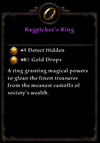 Ragpicker's ring