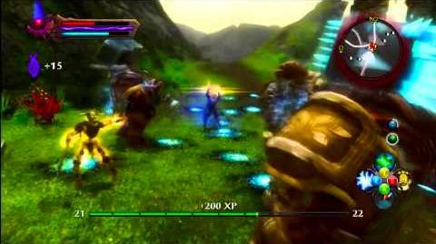Kev Play Kingdoms of Amalur Reckoning Hard Pt 129 quest Witch knight of ghennig