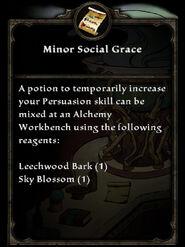 MinorSocialGrace