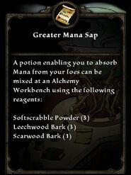 GreaterManaSap