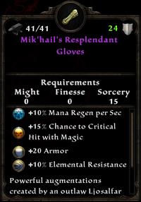 Mik'hail's resplendant