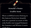 Aewald's Notes