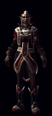 Pensive armor set