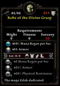 Robe of the Divine Grasp