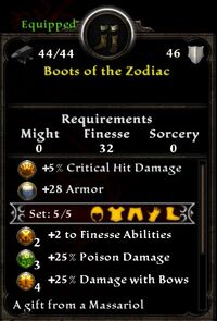 Boots of the Zodiac