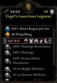 Ergel's Luxurious Legwear