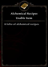 Alchemicalrecipes