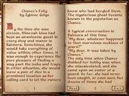 Chance's Folly (1)