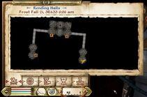 Corridors of Dark Salvation key location map