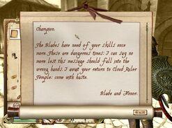 Steffans letter