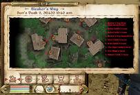 Bleaker's Way Local map