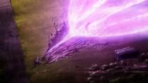Blast from gauntlet