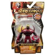 -!Spinmaster Redakai Basic Figure with Card Red Metanoid--607110020