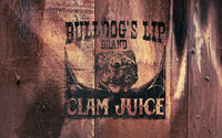 Rdr advert bulldogs lip clam juice