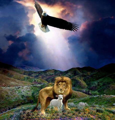 File:LionLambEagle.jpg