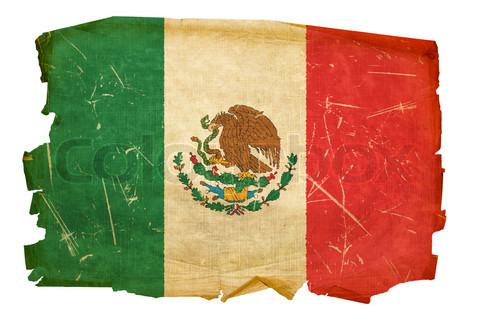2339484-158992-mexico-flag-old-isolated-on-white-background