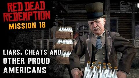 Red Dead Redemption - Mission 18 - Liars, Cheats and Other Proud Americans (Xbox One)