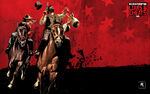 RDR Liars and Cheaters Horse Racing Artwork