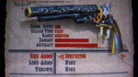 Red Dead Revolver - All Weapons